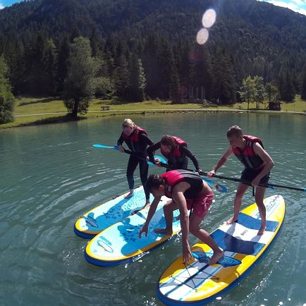 Jugendprogramm - Stand up Paddling